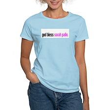 god bless sarah palin. T-Shirt