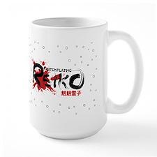"""""""Will Kill for Food"""" Large Reiko Mug"""