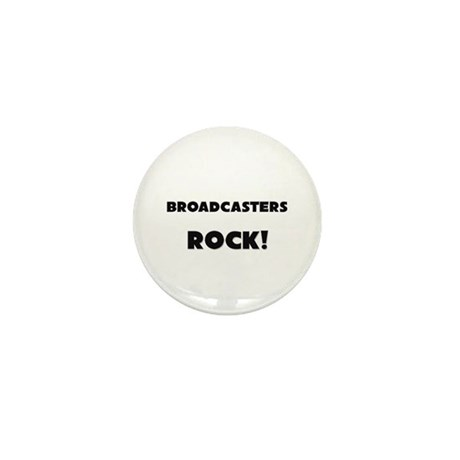 Broadcasters ROCK Mini Button