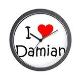 Cool Damian Wall Clock