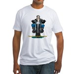 Harley midlife crisis birthday Fitted T-Shirt