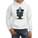 Harley midlife crisis birthday Hooded Sweatshirt