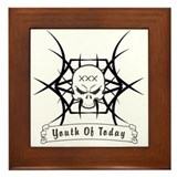 Straight Edge Youth of Today Framed Tile