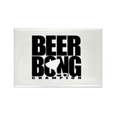 Beer Bong Rectangle Magnet (10 pack)