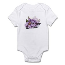 Tiger Swallowtail Butterfly & Lilacs Infant Creepe