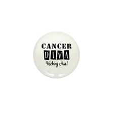 Cancer Diva (Black) Mini Button (10 pack)