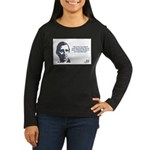 Emerson - Experiment Women's Long Sleeve Dark T-Sh