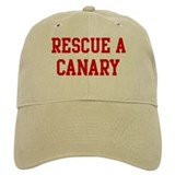 Rescue Canary Baseball Cap
