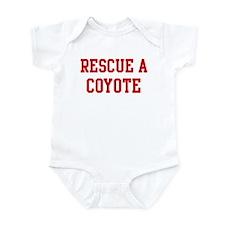 Rescue Coyote Infant Bodysuit