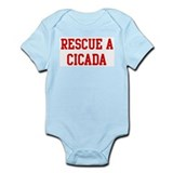 Rescue Cicada Infant Bodysuit