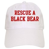 Rescue Black Bear Baseball Cap