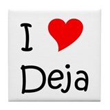 Cool Deja Tile Coaster