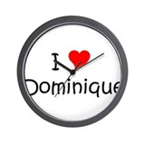 Cool Dominique Wall Clock