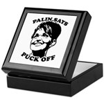 Palin says Puck Off Keepsake Box