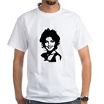 Sarah Palin Retro White T-Shirt