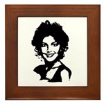 Sarah Palin Retro Framed Tile