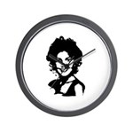 Sarah Palin Retro Wall Clock