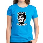 Pray for Palin Women's Dark T-Shirt