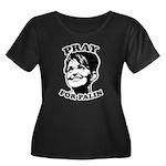 Pray for Palin Women's Plus Size Scoop Neck Dark T