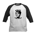 Pray for Palin Kids Baseball Jersey