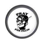 Pray for Palin Wall Clock