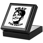 Pray for Palin Keepsake Box