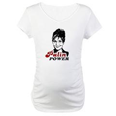 Palin Power Maternity T-Shirt