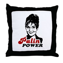 Palin Power Throw Pillow