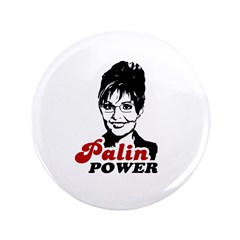 "Palin Power 3.5"" Button"