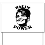 Palin Power Yard Sign
