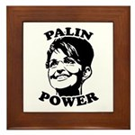Palin Power Framed Tile