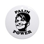 Palin Power Ornament (Round)