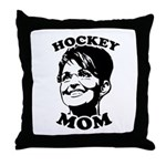 SARAH PALIN: Hockey Mom Throw Pillow