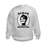 Sarah Palin is my homegirl Kids Sweatshirt