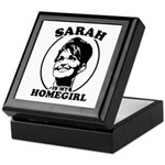 Sarah Palin is my homegirl Keepsake Box