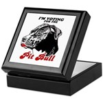 I'm voting for the Pit Bull Keepsake Box