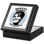 Beauty Queen for President Keepsake Box