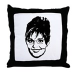 Sarah Palin Throw Pillow
