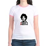 Sarah Palin: Very Pretty Jr. Ringer T-Shirt