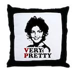 Sarah Palin: Very Pretty Throw Pillow