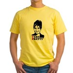 SARAH FOR VP = Very Pretty Yellow T-Shirt