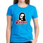 Jesus was a community organizer Women's Dark T-Shi