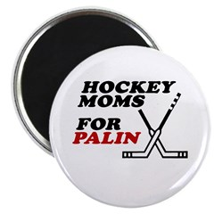 "Hockey Moms for Palin 2.25"" Magnet (100 pack)"