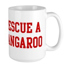 Rescue Kangaroo Coffee Mug