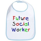 Future Social Worker Bib