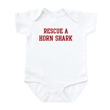 Rescue Horn Shark Infant Bodysuit