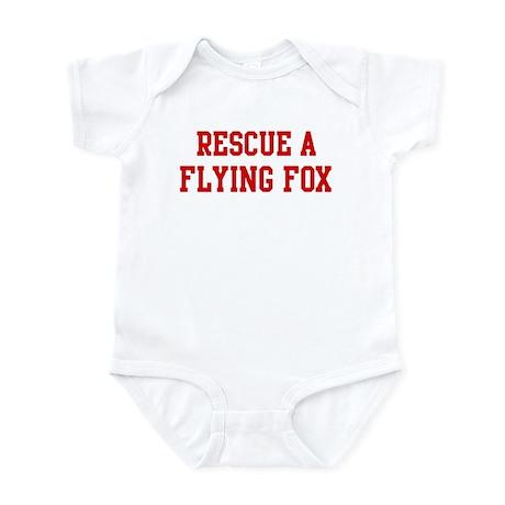 Rescue Flying Fox Infant Bodysuit