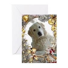 kai 6 merry christmas Greeting Cards