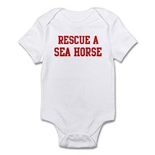 Rescue Sea Horse Infant Bodysuit