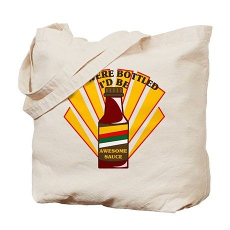Awesome sauce - tote